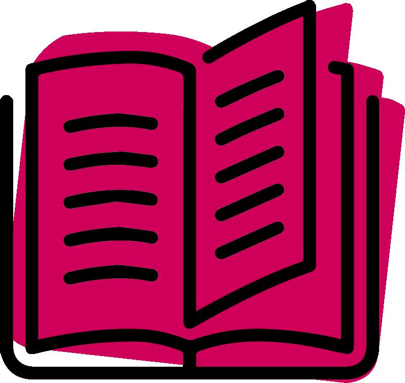 icône livre ouvert