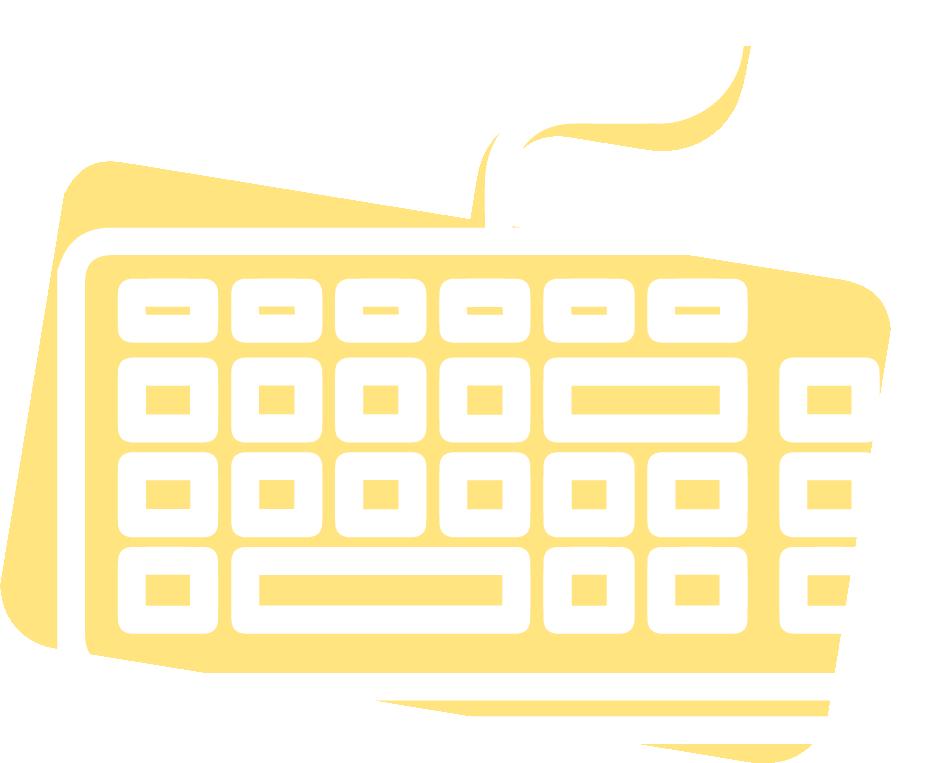 icône clavier d'ordinateur