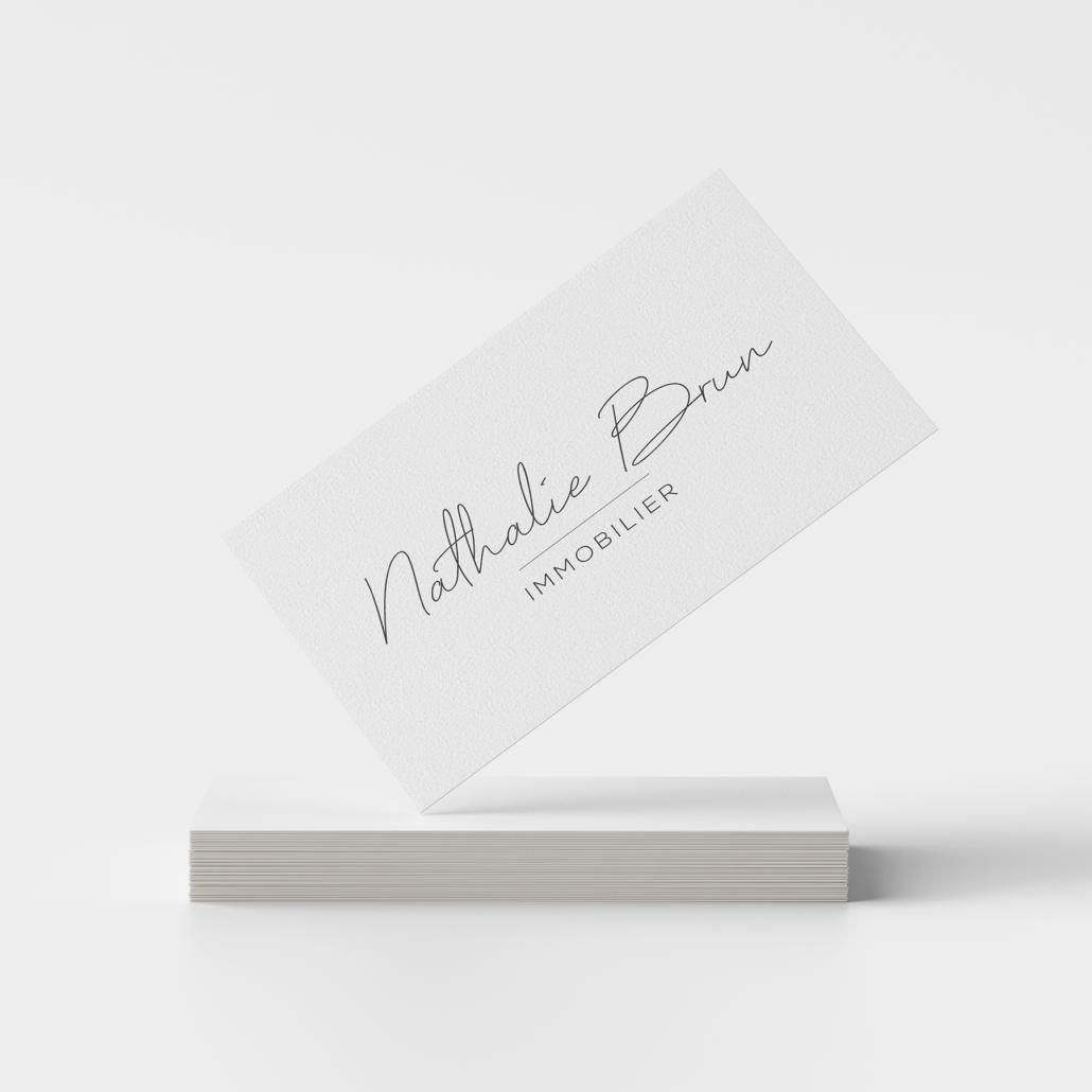 Logo Nathalie Brun Immobilier